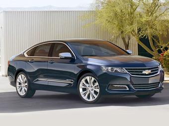 Модель Chevrolet Impala добралась до десятого поколения