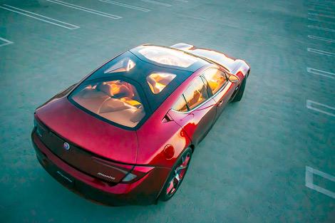 Американская компания официально представила прототип модели Atlantic. Фото 1