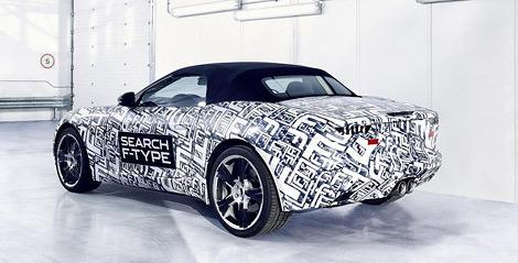 Новая модель компании будет называться F-Type. Фото 1