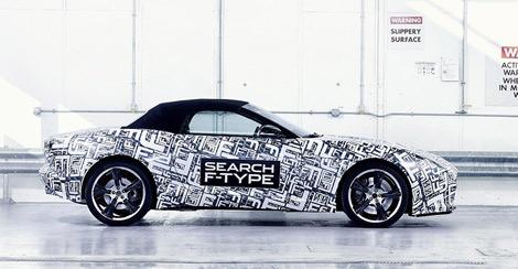 Новая модель компании будет называться F-Type. Фото 3
