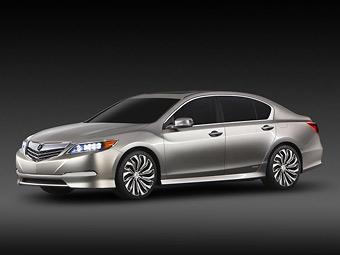 В Нью-Йорке показали прототип нового флагманского седана Acura
