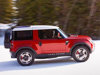"""Land Rover сделает из прототипа нового """"Дефендера"""" маленький кроссовер"""