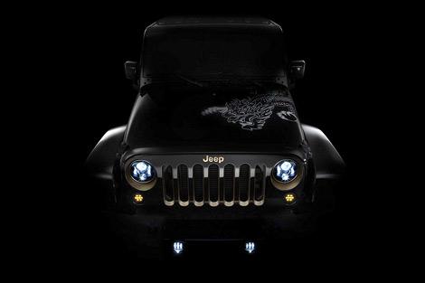 В Пекине покажут версии седана Chrysler 300C и Jeep Wrangler