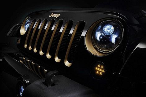 В Пекине покажут версии седана Chrysler 300C и Jeep Wrangler. Фото 2