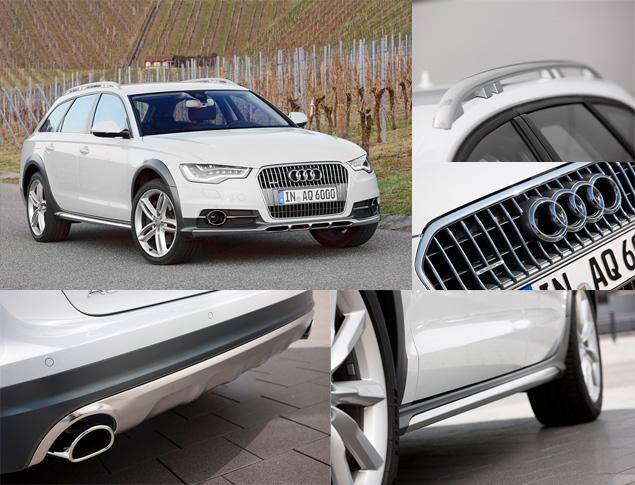 Примеряем Audi A6 Allroad и A8 Hybrid к нашим дорогам