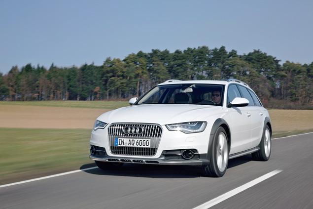 Примеряем Audi A6 Allroad и A8 Hybrid к нашим дорогам. Фото 1
