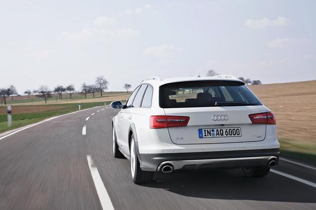 Примеряем Audi A6 Allroad и A8 Hybrid к нашим дорогам. Фото 2