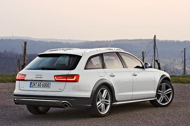 Примеряем Audi A6 Allroad и A8 Hybrid к нашим дорогам. Фото 6