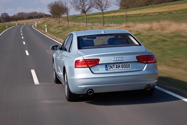 Примеряем Audi A6 Allroad и A8 Hybrid к нашим дорогам. Фото 9