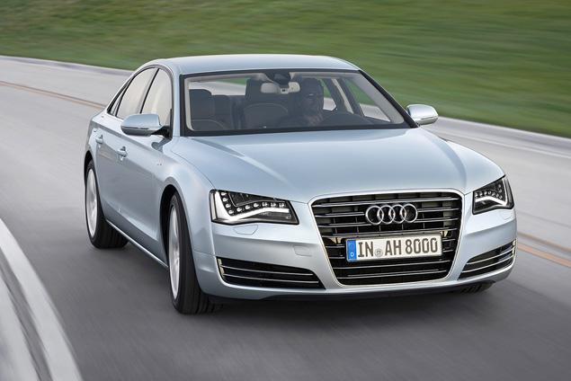 Примеряем Audi A6 Allroad и A8 Hybrid к нашим дорогам. Фото 10