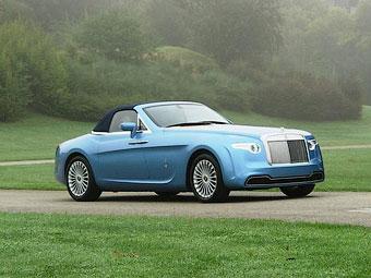 Единственный в своем роде кабриолет Rolls-Royce выставили на продажу