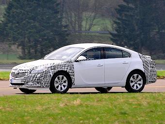 Opel Insignia готовится к обновлению