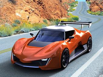 Всем желающим предложили выбрать дизайн нового суперкара