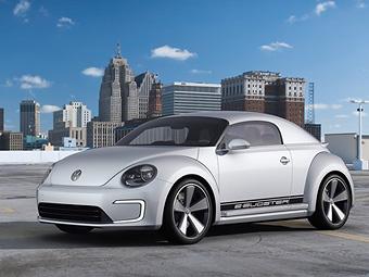 Предвестника VW Beetle без крыши первыми увидят китайцы