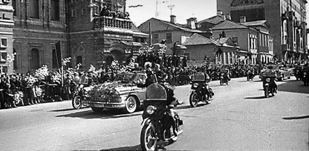 Какой транспорт возил Юрия Гагарина. Фото 4