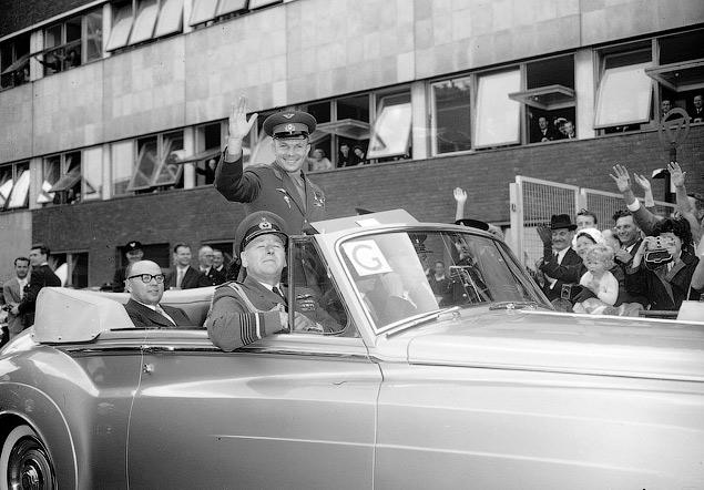 Какой транспорт возил Юрия Гагарина. Фото 6