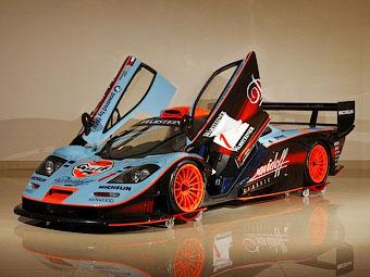 На торги в США выставят раритетный гоночный McLaren F1