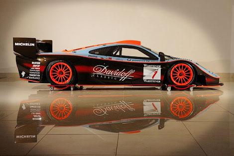 Автомобиль 15 лет назад выступал в гонках на выносливость за команду Gulf Team Davidoff. Фото 1