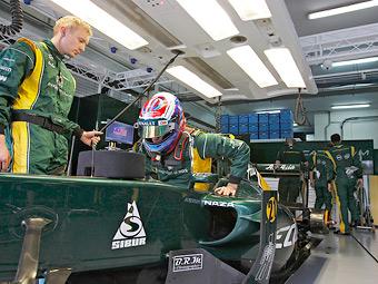 Петров пропустит первую тренировку Гран-при Китая