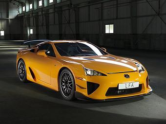 Lexus разработает суперкар ценой в миллион долларов