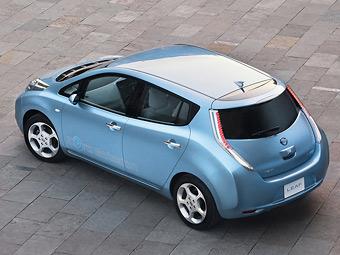 Nissan изменит для европейцев дизайн электрокара Leaf