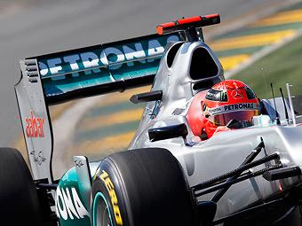 Судьи отклонили протест Lotus на антикрылья болидов Mercedes
