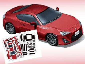 """""""Тойота"""" предложила собрать купе GT 86 из бумаги"""