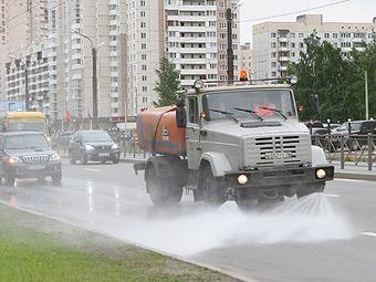 Дороги Москвы отмоют от реагентов