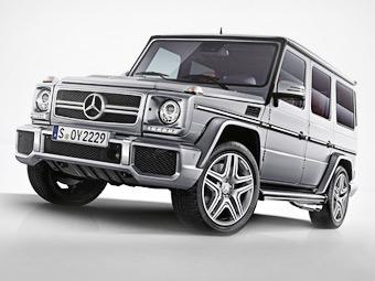"""Mercedes-Benz показал фотографии G-Class с твин-турбо """"восьмеркой"""""""