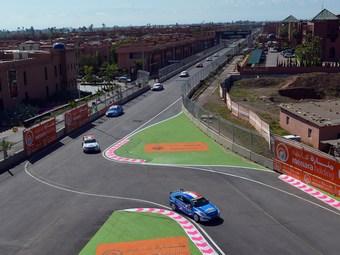 Пилоты Chevrolet поделили места на подиуме в гонках WTCC в Марокко
