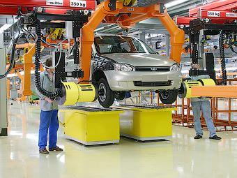 За три месяца в России собрали полмиллиона автомобилей