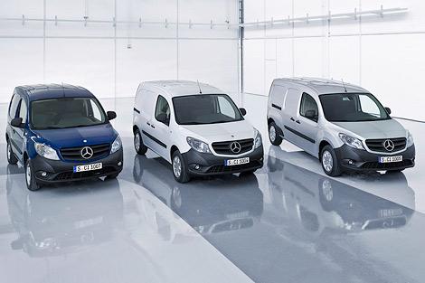 Концерн Daimler разработал вместе с Renault-Nissan компактный фургон