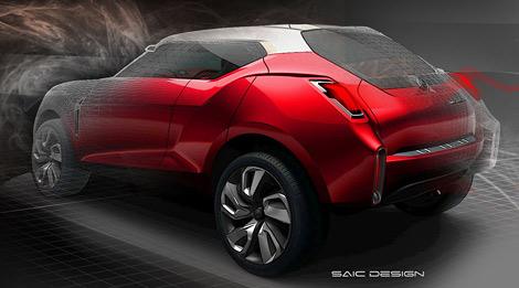 SAIC привезет в Пекин концептуальный кроссовер под маркой MG. Фото 3