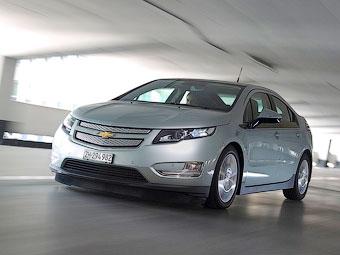 Chevrolet обновит гибрид Volt