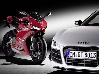 Компания Audi купила производителя мотоциклов Ducati