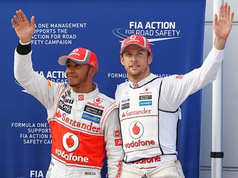 Баттон и Хэмилтон пропустят майские тесты Формулы-1