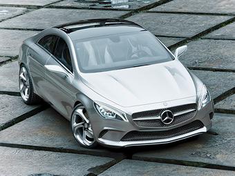 Mercedes-Benz рассекретил предвестника мини-CLS