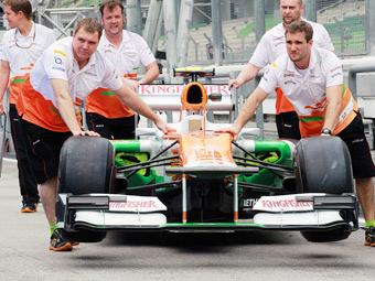Испуганный сотрудник Force India покинул Бахрейн