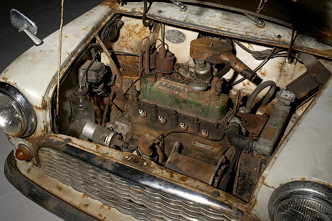 На аукцион выставили старейший в мире неотреставрированный MINI. Фото 1