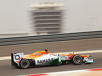 Команда Force India досрочно завершит первый день Гран-при Бахрейна