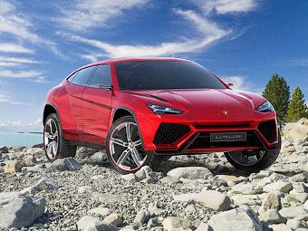В интернете рассекретили внешность внедорожника Lamborghini