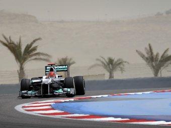 Михаэль Шумахер начнет Гран-при Бахрейна с 22-го места