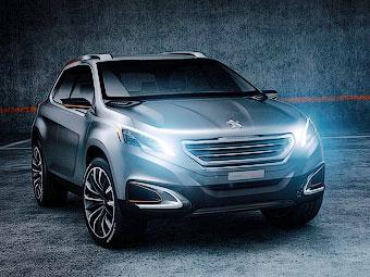 Компания Peugeot привезла в Пекин компактный городской кроссовер