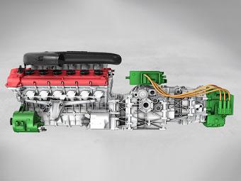 Ferrari рассекретила гибридную силовую установку для преемника Enzo