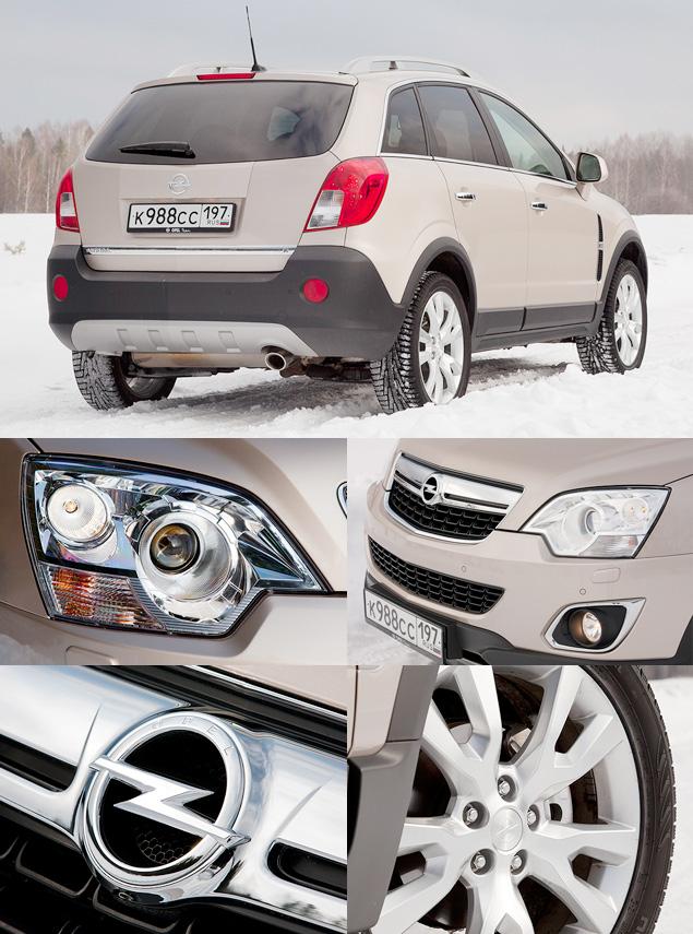 Opel едва уловимо обновил кроссовер Antara. Фото 3