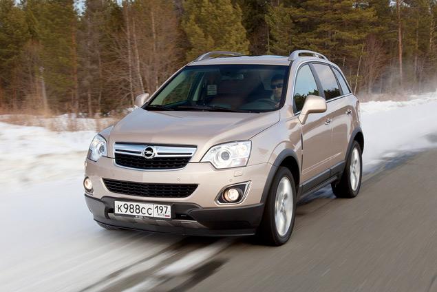 Opel едва уловимо обновил кроссовер Antara. Фото 4