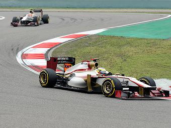 Команда HRT пропустит майские тесты Формулы-1