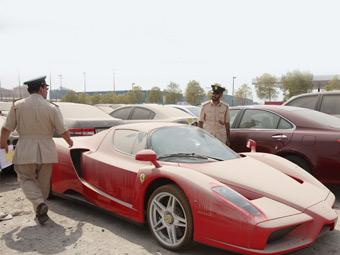 Полиция Дубая отказалась продавать конфискованный Ferrari Enzo