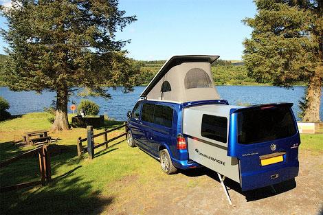 Компания Doubleback сделала фургон для кэмпинга с двойным кузовом. Фото 2