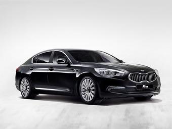 """Компания Kia сообщила подробности о конкуренте """"семерке"""" BMW"""